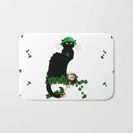 Le Chat Noir - St Patrick's Day Bath Mat