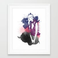 stevie nicks Framed Art Prints featuring Stevie Nicks by 2b2dornot2b