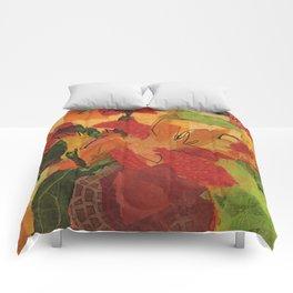 Wild Sunflowers Comforters