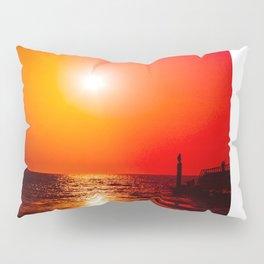 Surreal sunset Pillow Sham