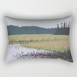 The Grassy Bay, Algonquin Park Rectangular Pillow