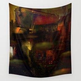 Train de nuit Wall Tapestry