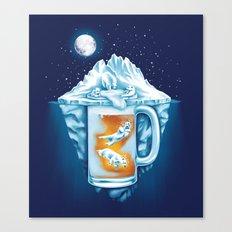 The Polar Beer Club Canvas Print