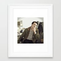 british Framed Art Prints featuring British Intelligence by AdamAether