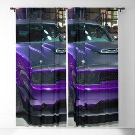 Purple Challenger Hellcat Demon color photograph / photography / poster Blackout Curtain