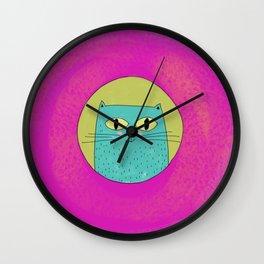 Helvetic  Wall Clock