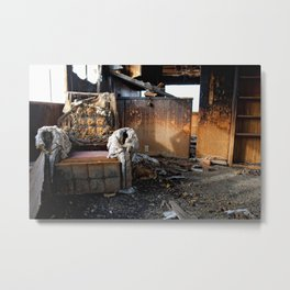 The Lounge Metal Print