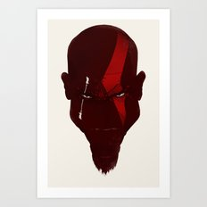 God Of War - Puny Gods! Art Print