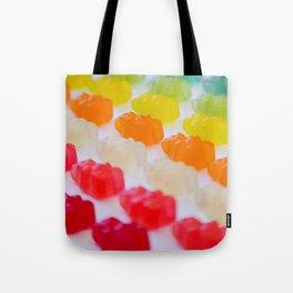 Gummy Bears Rainbow Tote Bag