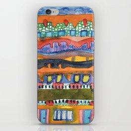 City On The Edge Of The Desert  iPhone Skin