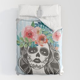 La Calavera Catrina Comforters