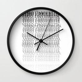 Towards invisibility - Verso l'invisibilità Wall Clock