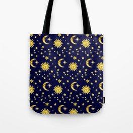 Sun, Moon & Stars Umhängetasche