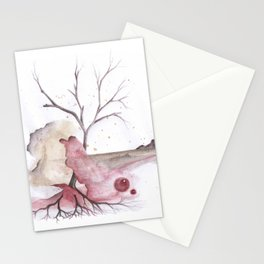 Hologram Layers Stationery Cards