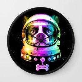 Space Dog Wall Clock