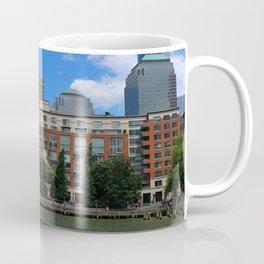 Manhattan And Hudson River Coffee Mug
