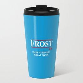 Frost 18  Make Nebraska Travel Mug