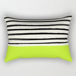 Electric Pineapple x Stripes Rectangular Pillow