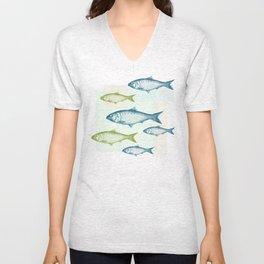 Vintage Fish Unisex V-Neck