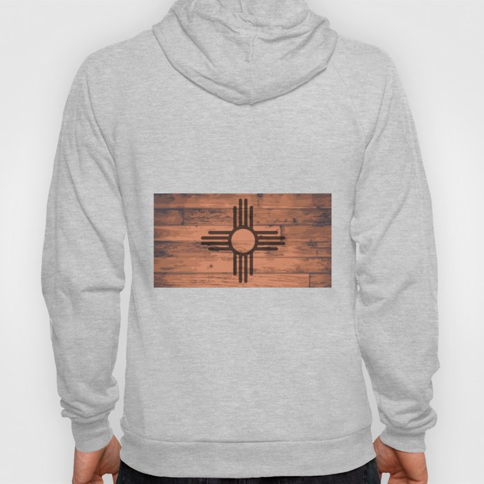 New Mexico State Flag Brand Hoody