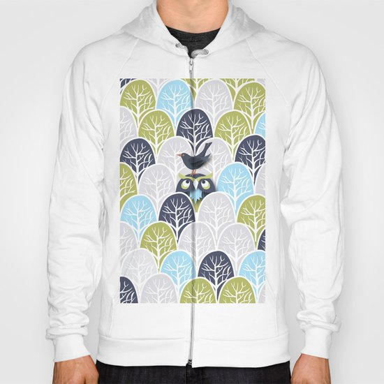 Forest Owl No. 2 Hoody