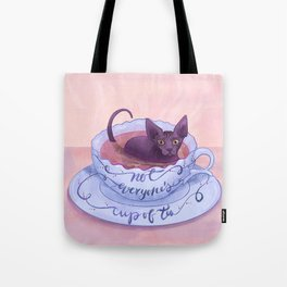 Not Everone's Cup Of Tea - Sphynx Cat - Part 2 Tote Bag