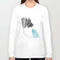 polar bear Long Sleeve T-shirts featuring Polar Bear by By Nordic