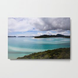 Whitsunday Islands- Whitehaven Beach Metal Print