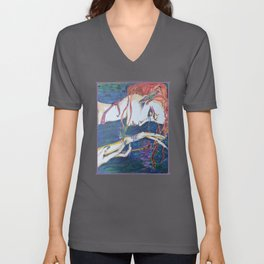 Droplets Unisex V-Neck