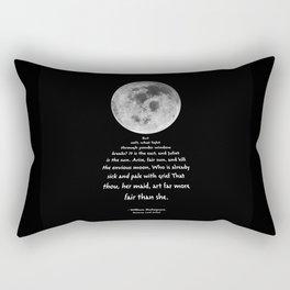 Moon Bridge Shakespeare Rectangular Pillow