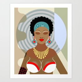 Black Queen Art Print