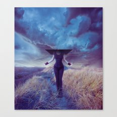 Entropic misadventure Canvas Print