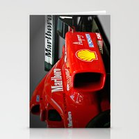f1 Stationery Cards featuring Ferrari F1 by cjsphotos