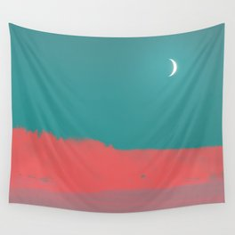 UNE NUIT AU CANADA Wall Tapestry