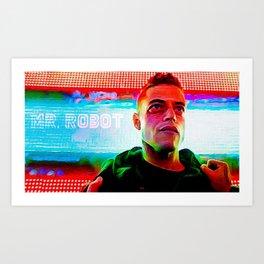 < fsociety00.dat > - Mr. Robot Art Print