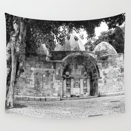 old stracture Wall Tapestry