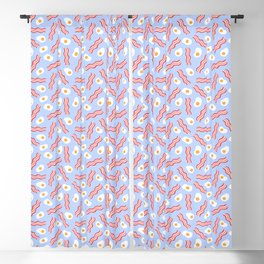 Bacon and Eggs Blackout Curtain