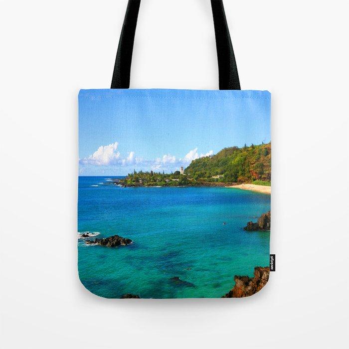 Waimea Bay ... By LadyShalene Tote Bag