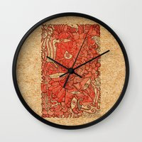 wood Wall Clocks featuring - wood - by Magdalla Del Fresto