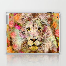 LION AND THE ROSE Laptop & iPad Skin