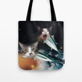 Meowfish Tote Bag