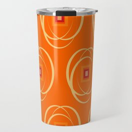 Warm Universe Pattern  Travel Mug