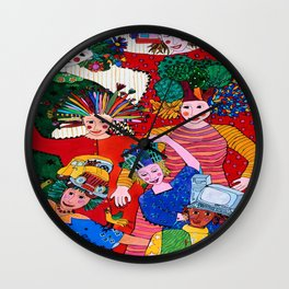 POWER GIRLS Wall Clock