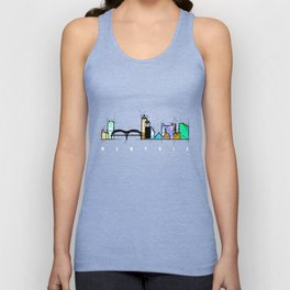 Memphis city Unisex Tank Top