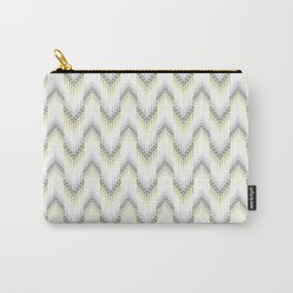 Delicate zigzag pattern. Carry-All Pouch