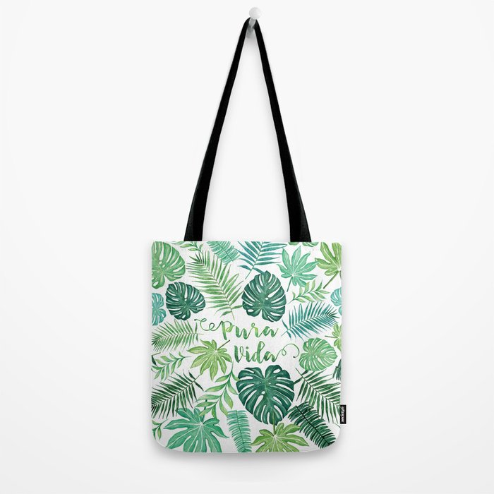 VIDA Tote Bag - Gold Rose Pattern Tote by VIDA