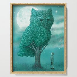 The Night Gardener - Cover Serving Tray