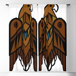 Golden Eagle Blackout Curtain
