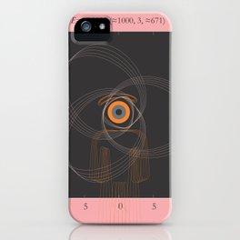 simuleyetion iPhone Case