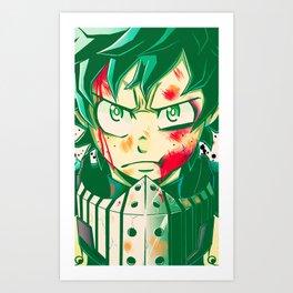 Deku Art Print